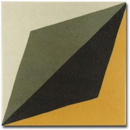 CAPRICE DECO - WAVE COLOURS - Carrelage 20x20 cm aspect ciment géométrique coloré