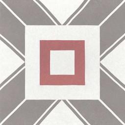 CAPRICE DECO - DECAL COLOURS - Carrelage 20x20 cm aspect carreaux de ciment cube géométrique coloré