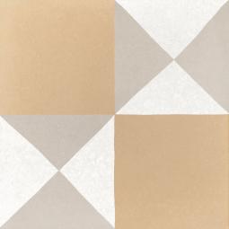 CAPRICE DECO - CHESS PASTEL - Carrelage 20x20 cm aspect carreaux de ciment géo moderne pastel