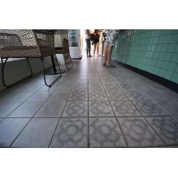 WORLD STREETS ACORN GRIS ANTHRACITE Carrelage aspect carreaux de ciment