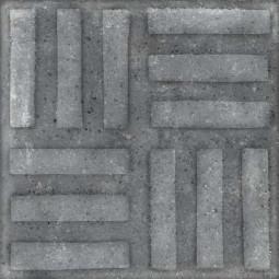 WORLD STREET NORVINS GRAFITO 20 x 20 cm - Carrelage aspect carreaux de ciment anthracite