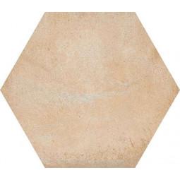 LAVERTON HEXAGONO BAMPTON BEIGE Carrelage hexagone aspect béton beige
