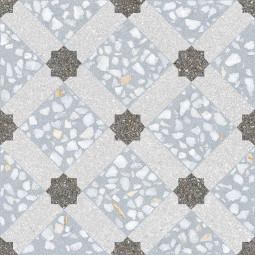 MANCINI AZUL 30 x 30 cm - Carrelage aspect carreaux de ciment