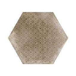 URBAN HEXA MELANGE NUT - Carrelage 29,2 x 25,4 cm Patchwork Hexagonal aspect Béton Taupe
