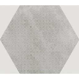URBAN HEXA MELANGE SILVER - Carrelage 29,2 x 25,4 cm Patchwork Hexagonal aspect béton Gris