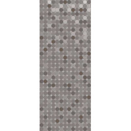 FUSION GLOW MARENGO - 20x50 cm - Faience décorative grise