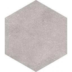 RIFT HEXAGONO CEMENTO Carrelage aspect béton gris