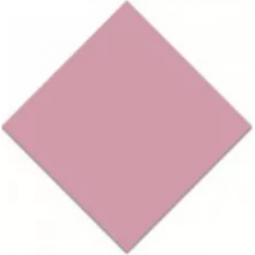 CABOCHON 4 x 4 cm VODEVIL TACO DOME PINK ROSE
