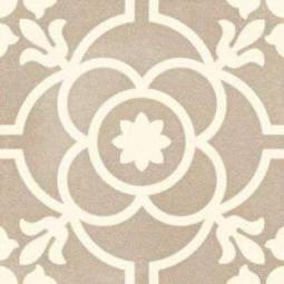 SVENSKA BLOMKNOPP SIENA  20 x 20 cm Carrelage aspect carreaux de ciment