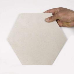 RIFT HEXAGONO CREMA Carrelage aspect béton beige