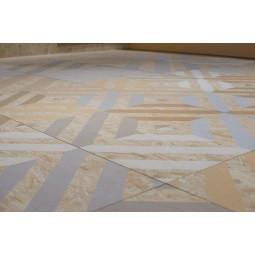 STRAND CORNISH MULTICOLOR Carrelage patchwork aspect bois OSB