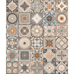 AVENUE DECO - Carrelage patchwork à motifs grand format