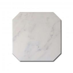 OCTAGON MARMOL - BLANCO - Carrelage 20x20 cmoctogonal aspect Marbre Blanc mate