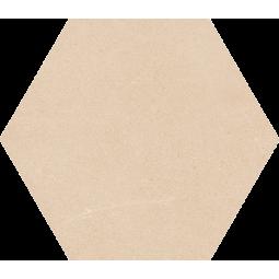 SEINE HEXAGONO CREMA - Carrelage hexagonal grand format aspect pierre