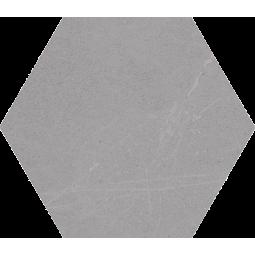 SEINE HEXAGONO GRIS - Carrelage hexagonal grand format aspect pierre