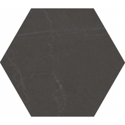 SEINE HEXAGONO CEMENTO - Carrelage hexagonal grand format aspect pierre