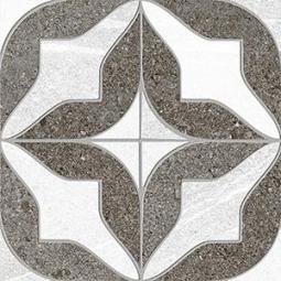 SEINE MORLAND R GRIS - Carrelage aspect ciment motif étoile