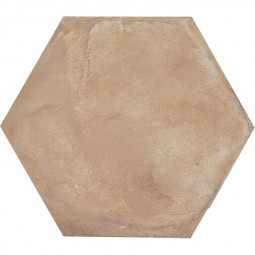 TERRA OCRA HEXAGONAL - 25 x 21.6 cm Carrelage aspect ciment vieilli