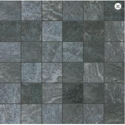 MALLA PIETRA ANTRACITA -  31,6 x 31,6 cm - Mosaïque aspect ardoise gris bleu