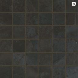 MALLA PIETRA MUSTANG - 31,6 x 31,6 cm - Mosaïque aspect ardoise noir