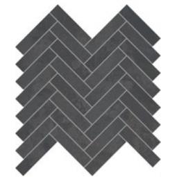 IONIC MAGNETIC STEEL - 28,1X28,1 cm - Mosaïque chevron