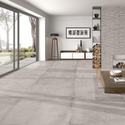MATERIKA GREY - Carrelage sol moderne brut