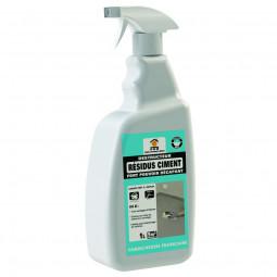 Décapant liquide prêt à l'emploi pour les résidus ciment - 1 Litre