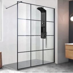 Paroi de douche style atelier 120 cm - CLUB
