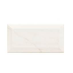 METRO CARRARA - Faience 7,5X15 cm métro parisien aspect marbre