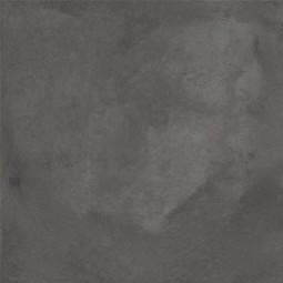 TERRA NERO 20x20 cm - Uni Carrelage aspect ciment vieilli - Gris anthracite