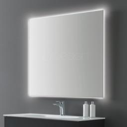 Miroir carré 80x80 cm Rétro éclairant -CELEST