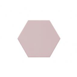 KROMATIKA - ROSE - Carrelage hexagonal 11,6x10,1 cm rose claire