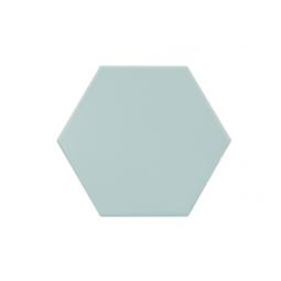 KROMATIKA - BLEU CLAIRE - Carrelage hexagonal 11,6x10,1 cm bleu claire