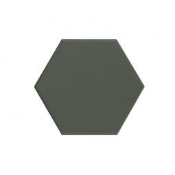 KROMATIKA - GREEN - Carrelage hexagonal 11,6x10,1 cm Vert
