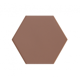 KROMATIKA - CLAY - Carrelage hexagonal 11,6x10,1 cm rouge bordeaux
