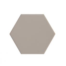 KROMATIKA - BEIGE - Carrelage hexagonal 11,6x10,1 cm beige taupe