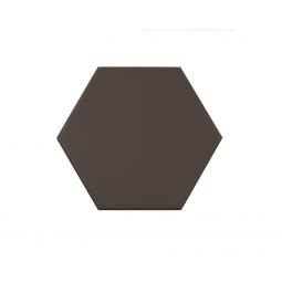 KROMATIKA - BROWN - Carrelage hexagonal 11,6x10,1 cm marron