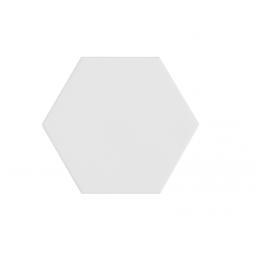 KROMATIKA - WHITE - Carrelage hexagonal 11,6x10,1 cm blanc