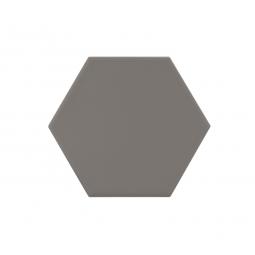 KROMATIKA - GREY - Carrelage hexagonal 11,6x10,1 cm Gris anthracite