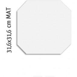 OCTOGONE ALASKA - Carrelage octogone blanc