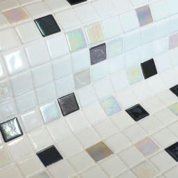 FOSFO DRACO - Mosaïque en pâte de verre phosphorécente  2,5x2,5 cm