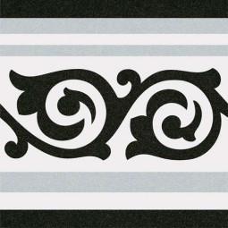 1900 GIBERT 2 BORDURE 20 x 20 cm Carrelage aspect carreaux de ciment