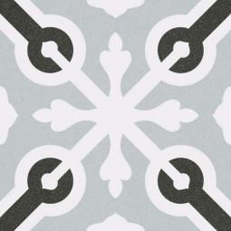1900 LLAGOSTERA GRIS 20 x 20 cm Carrelage aspect carreaux de ciment