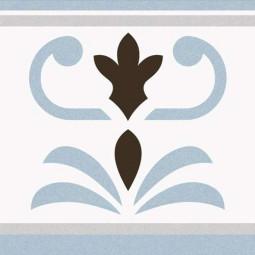 1900 VALVANERA 2 BORDURE 20 x 20 cm Carrelage aspect carreaux de ciment
