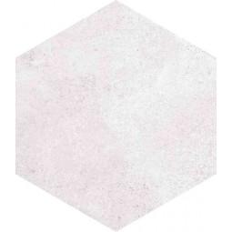 RIFT HEXAGONO BLANCO Carrelage aspect béton blanc
