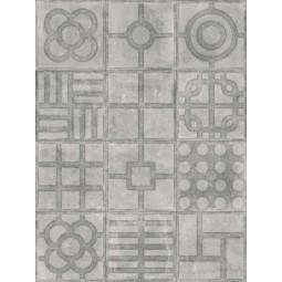 WORLD STREETS PAULISTA CEMENTO 20 x 20 cm - Carrelage patchwork aspect carreaux de ciment
