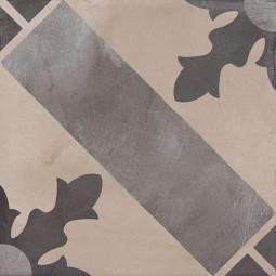 TERRA CARDINALE -20x20- GRIS- Carrelage aspect ciment vieilli