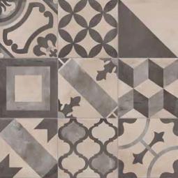 TERRA MIX PATCHWORK - 20x20 cm -  Froid Carrelage aspect ciment vieilli