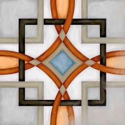 VODEVIL MOTIF FORNOS 20 x 20 cm Carrelage aspect carreaux de ciment