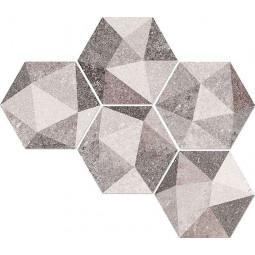 ASTON Hexagone LUTON Multicolor 23x26,6 cm